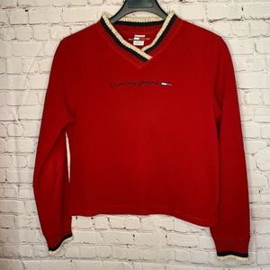 Tommy Jeans Vintage Long Sleeve Sweater